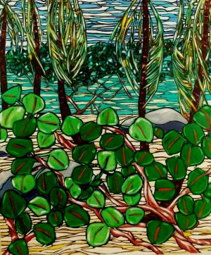 Sea Grapes 1, 48x57