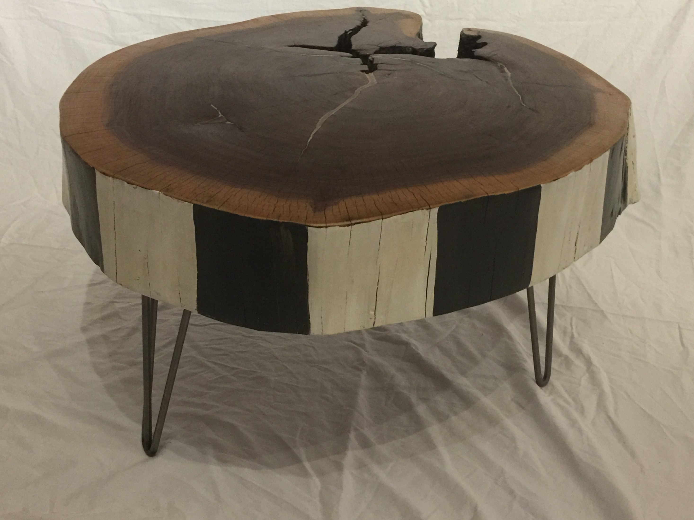Walnut Slab Coffee Table The Camptons Art And Design Studio And Gallery