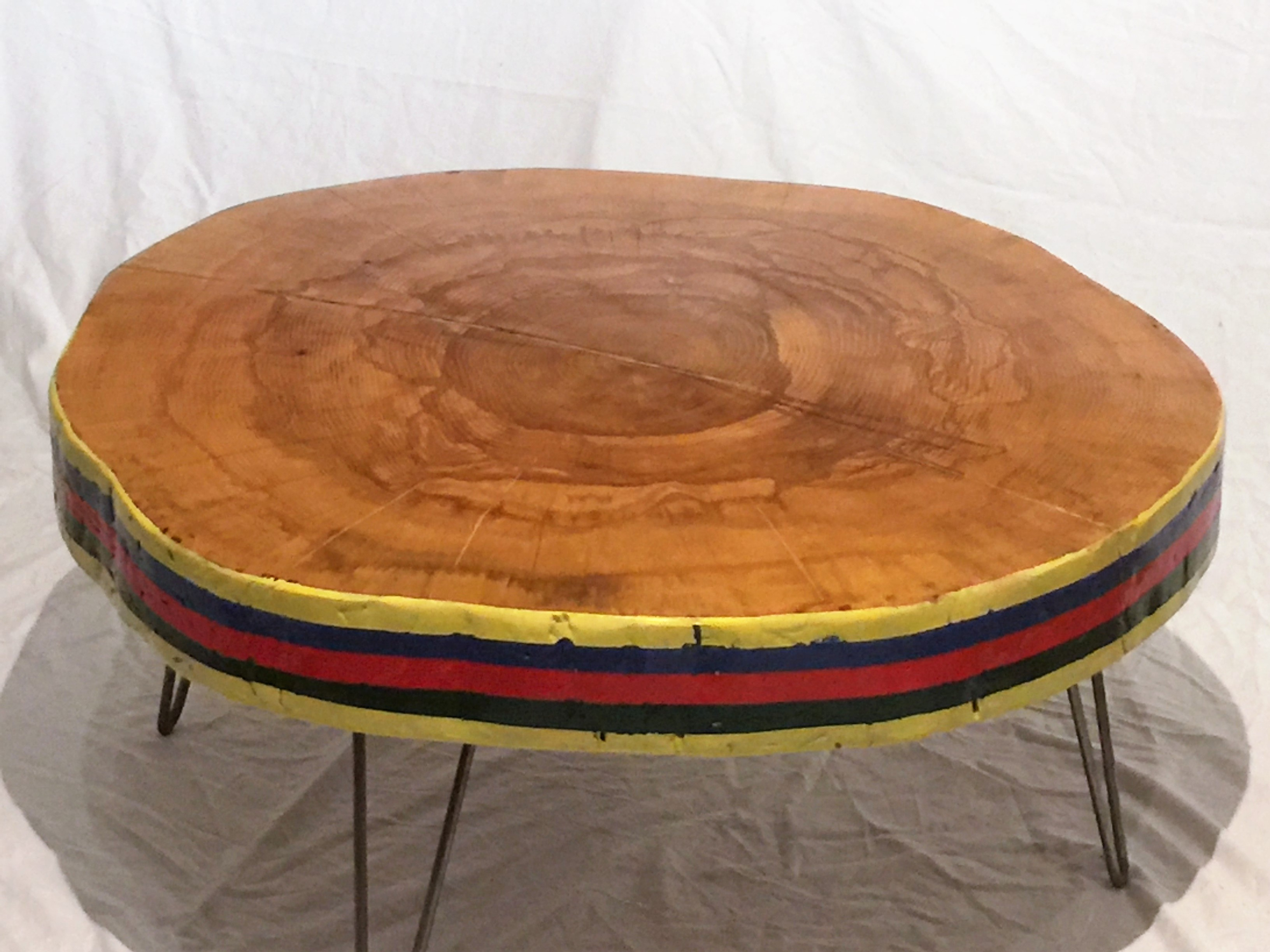 Sweet Gum Slab Coffee Table – The Camptons Art and Design Studio